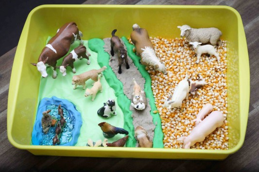 Preschool Farm Theme Week 1 In My World