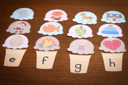 preschool letter h beginning sounds scoops