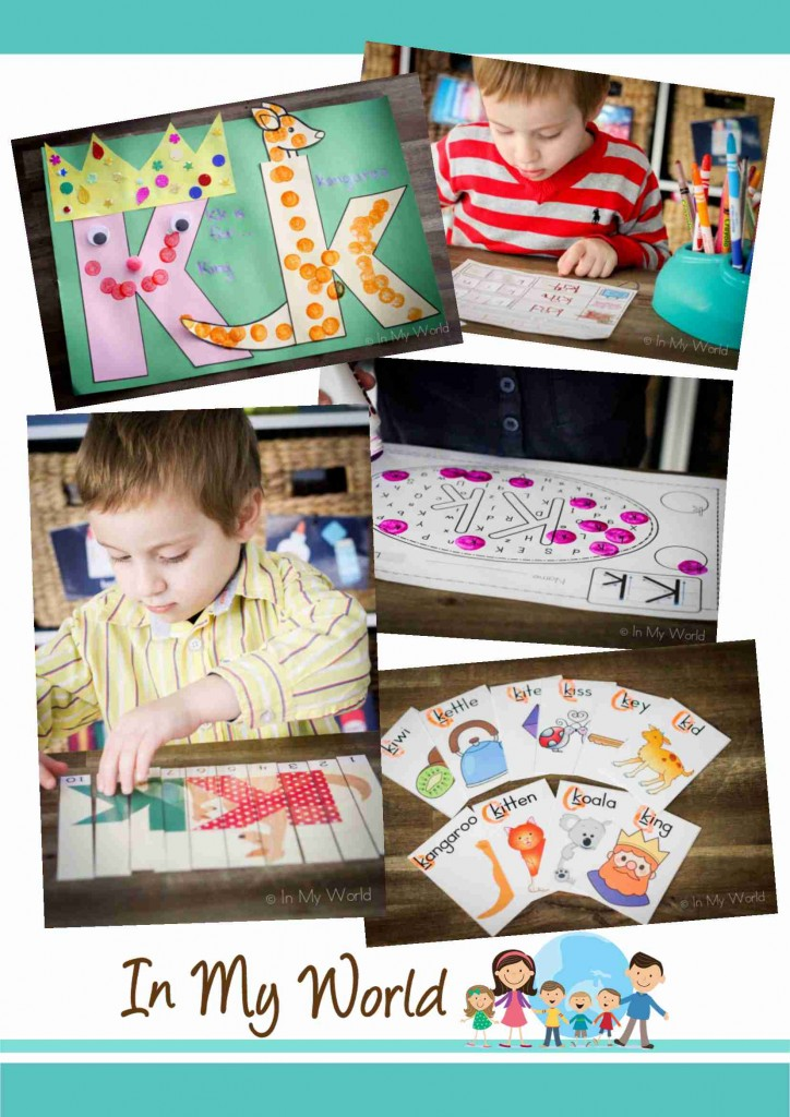Preschool Letter K BLOG FREEBIES