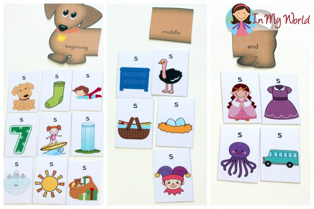 Preschool Letter S FREE Sound Hound activity