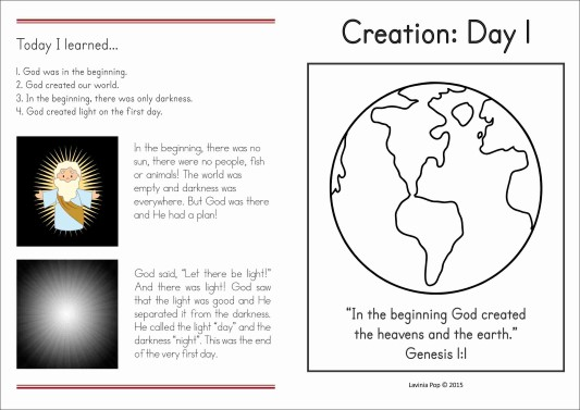 the different views of the biblical story of creation The bible is the collection of about forty different writers who came from a wide variety of  the same events from different views  account of the creation.
