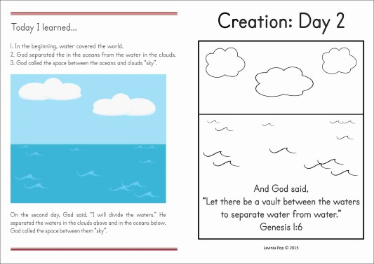 Creation Day 2 Book