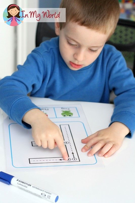 Back to School Preschool Centers - Upper and Lower Case Letters with correct formation