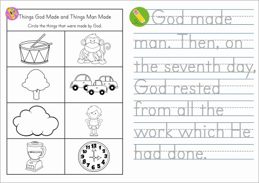 Sunday School Creation FREE Days 6 & 7 Take Home Booklet