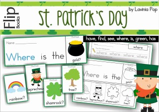 St. Patrick's Day Flip Books