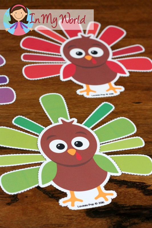 Thanksgiving preschool centers in my world for Thanksgiving craft ideas for kindergarten