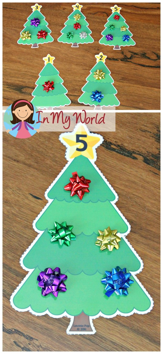 Christmas preschool centers in my world for Christmas crafts for pre schoolers