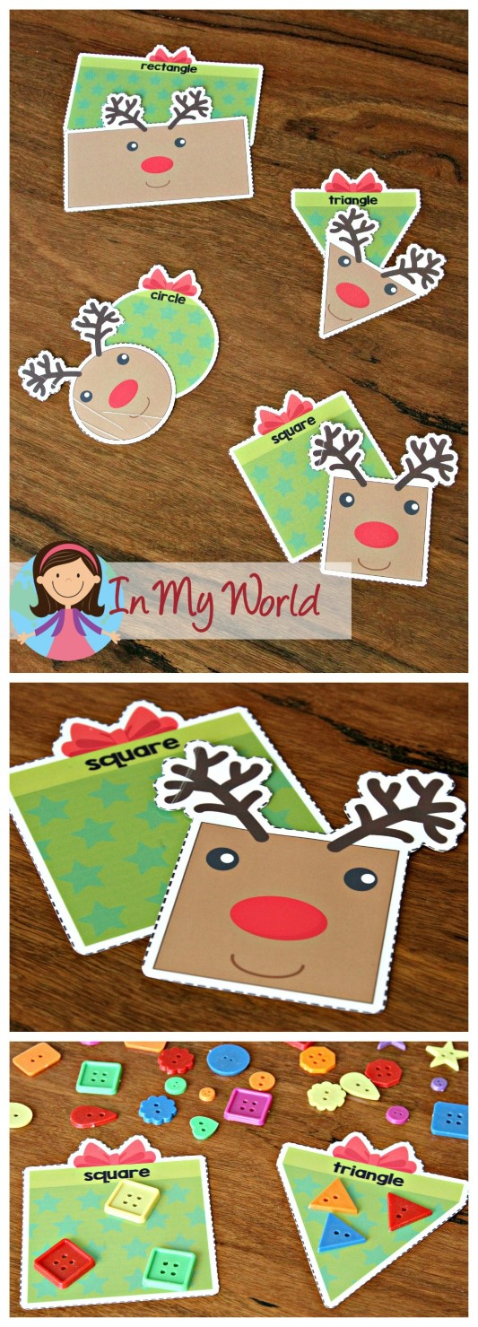 Christmas preschool centers in my world for Christmas crafts for kindergarten class