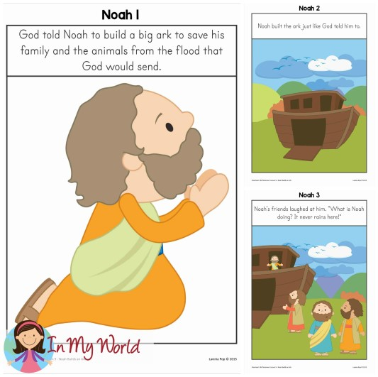 FREE Sunday School Lesson: Noah's Ark Story Posters