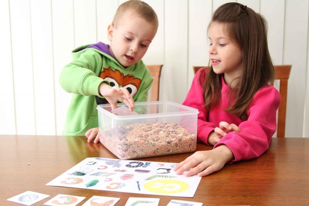 Preschool Letter of the Week C Alphabet Find