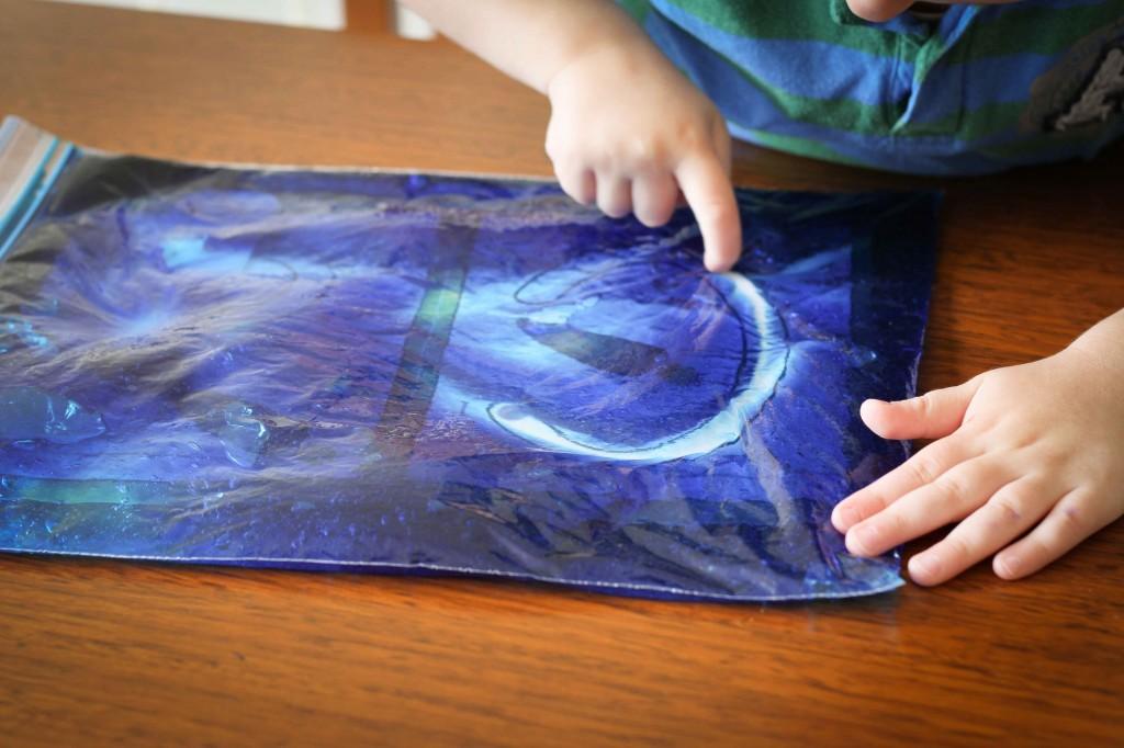 Preschool Letter of the Week C Sensory Alphabet Tracing