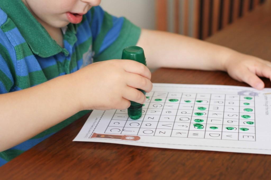 Preschool Letter of the Week C Letter Maze