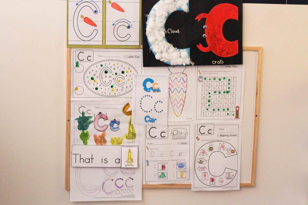 Preschool Letter of the Week C