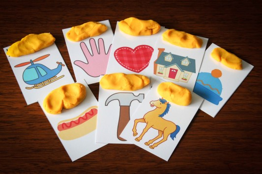 Preschool Letter H vocabulary cards