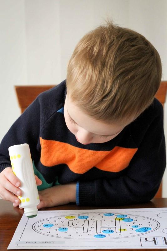 Preschool Letter H Letter Find