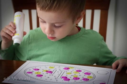 Preschool Letter I Letter Find