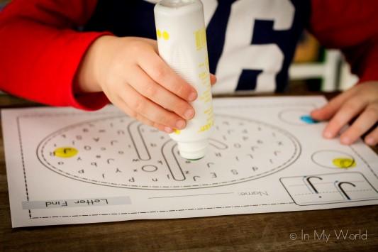 Preschool Letter J Letter Find