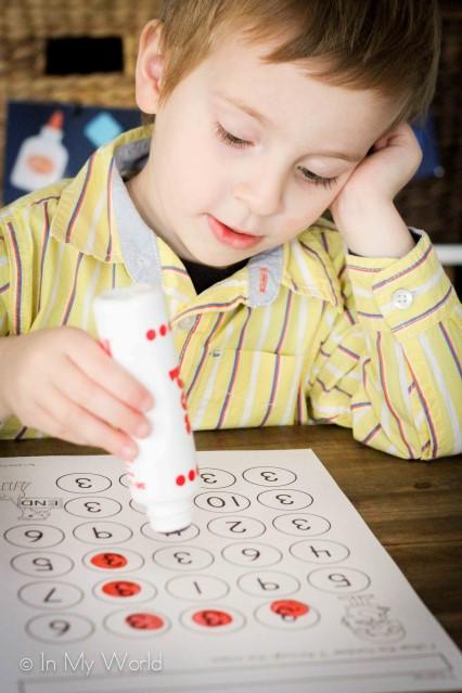 Preschool Numbers Number 3 Maze
