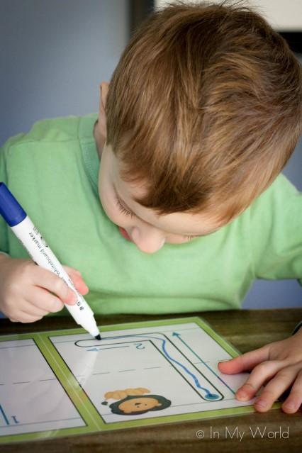 Preschool Letter L - Alphabet Play Dough Mats