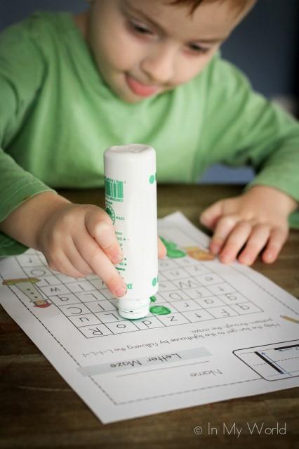 Preschool Letter L Letter Maze