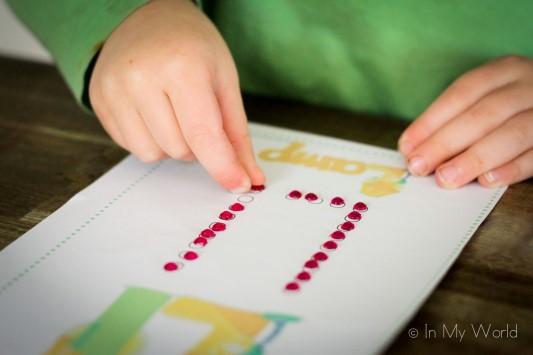 Preschool Letter L Fine Motor Q-Tip