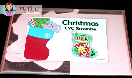 Christmas CVC Words Scramble (9)