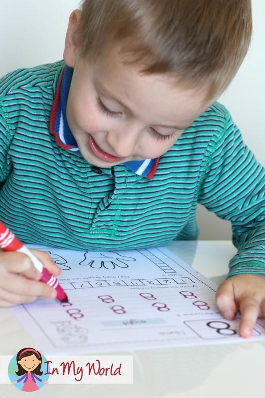 Preschool Number 8 Concepts