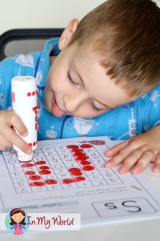 Preschool Letter S FREE Alphabet maze