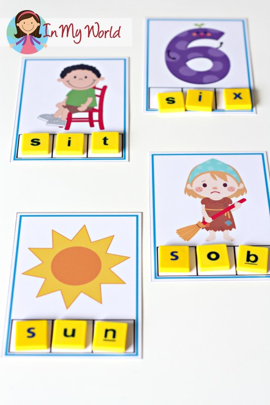 Preschool Letter S FREE Beginning S Phoneme Segmentation Cards