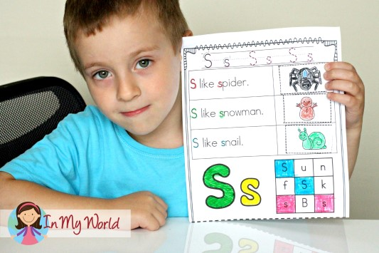 Preschool Letter S worksheet
