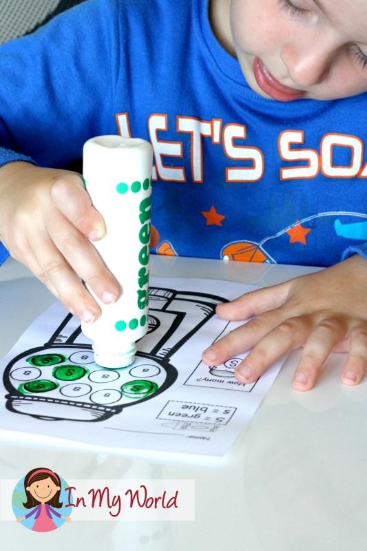 Preschool Letter S Dot 'em upper and lower case letters