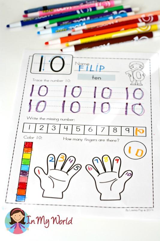 Number Concepts worksheet FREE