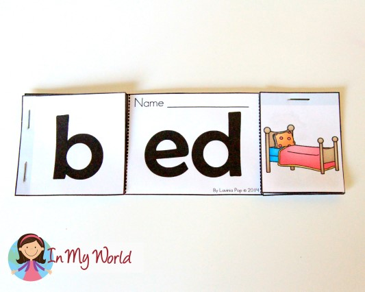 FREE -ed word family reader