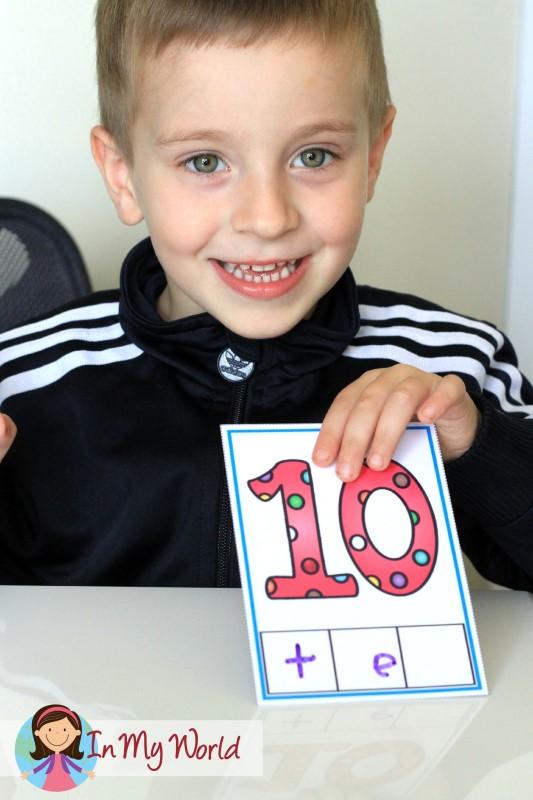 Preschool Letter T CVC Phoneme Segmentation Cards Writing
