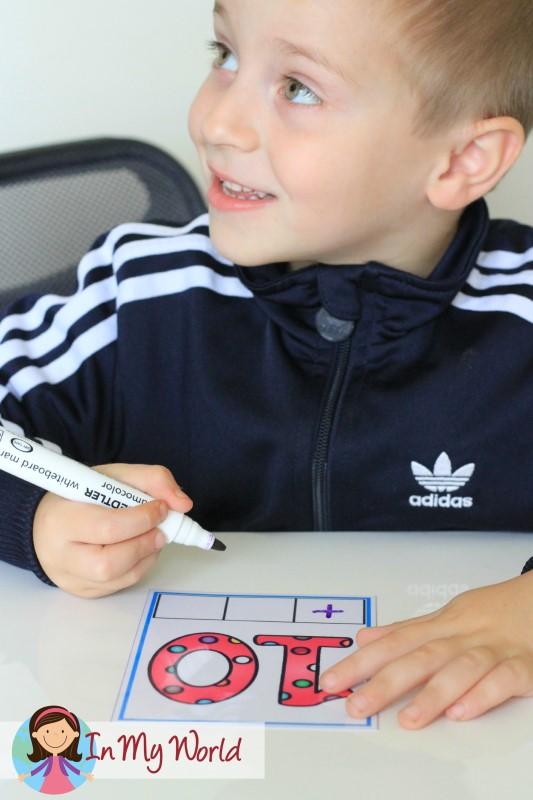 Preschool Letter T CVC Phoneme Segmentation Cards