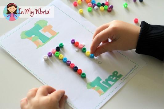 Preschool Letter T FREE Fine Motor Printable