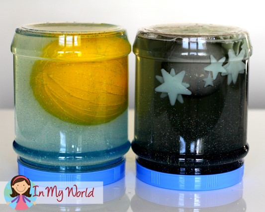 Sun, Moon and star exploration jars