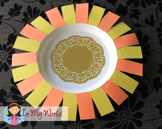 Sunday School Creation Sun Moon And Stars In My World & Paper Plate Sun - Castrophotos
