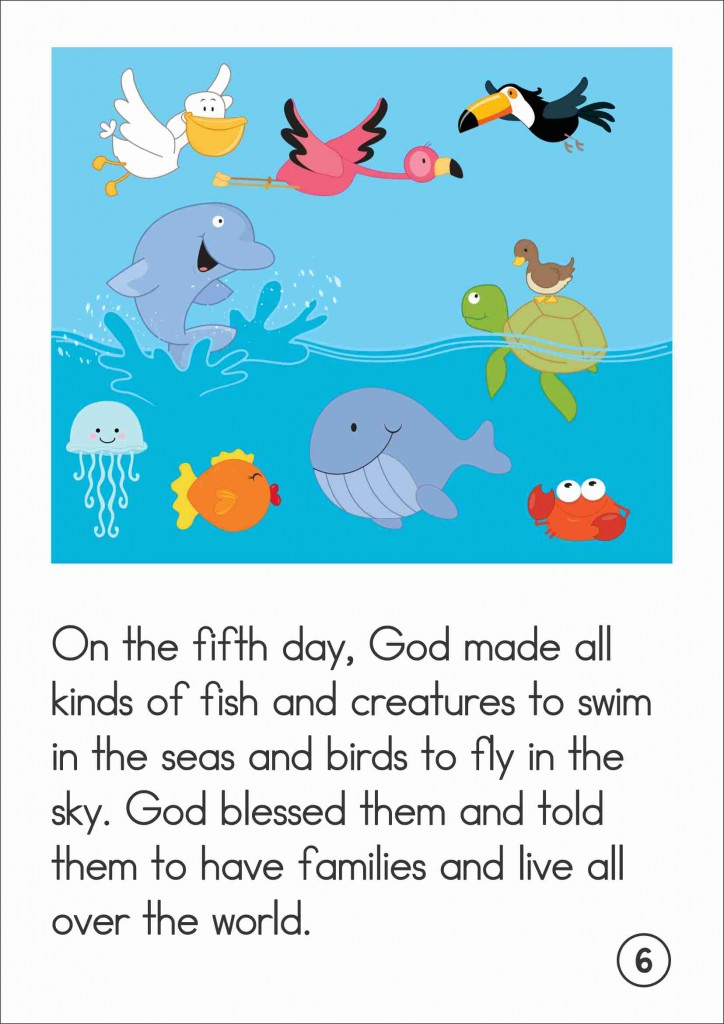 Creation Story Book FREE