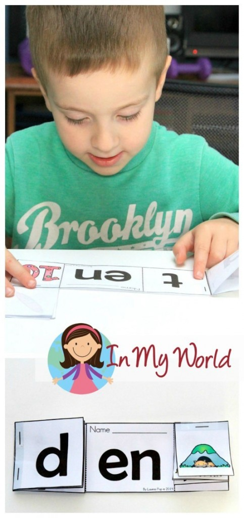 Preschool Letter of the Week EN Word Family Reader