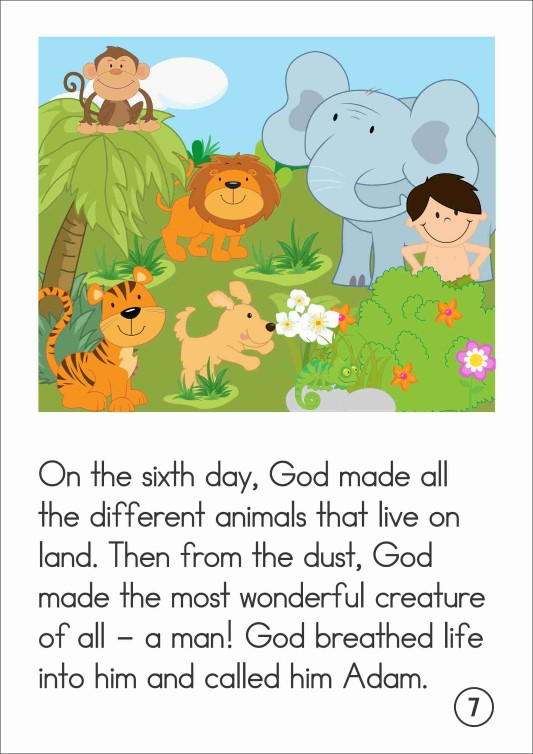 FREE Bible Story book: Creation