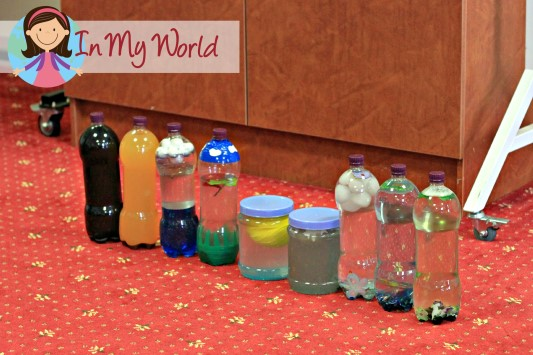 Day of Creation Sensory Bottles