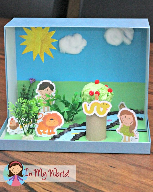 Adam and Eve Story Box