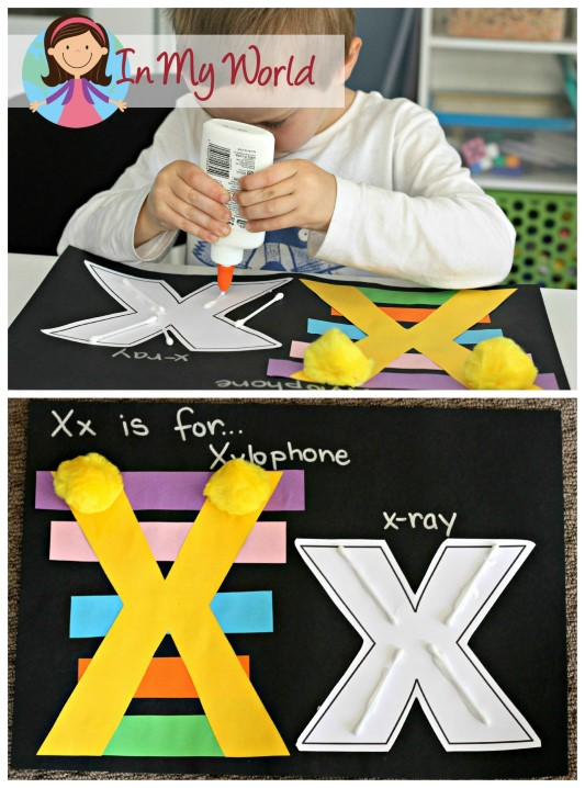 Preschool Letter X FREE