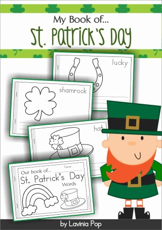 St. Patrick's Day Vocabulary Book