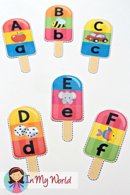 learning letter sounds summer popsicle alphabet and beginning sounds free 2779