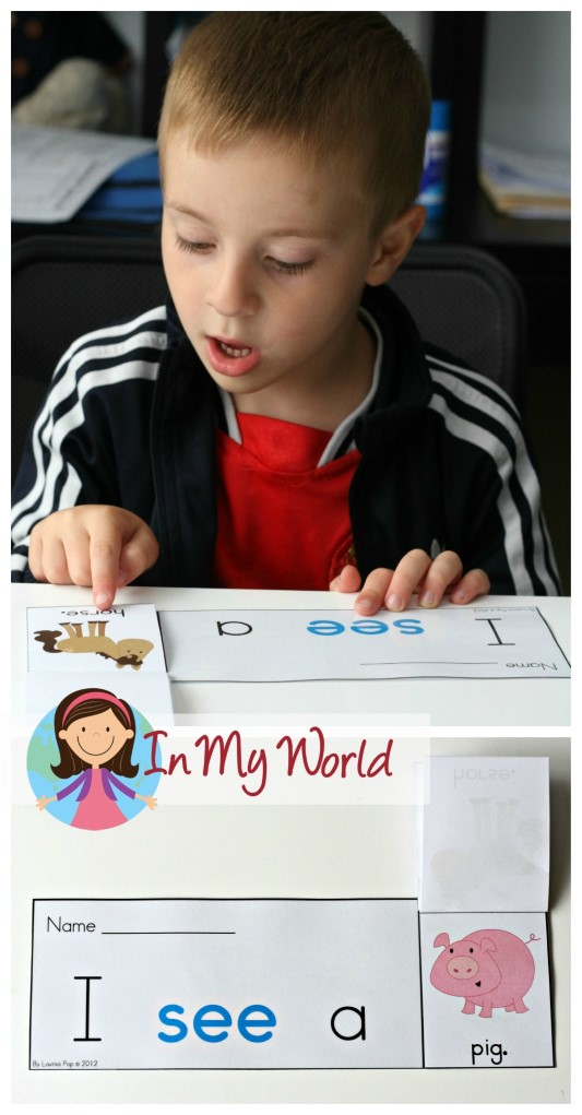Sight Words Fluency Flip Books FREE