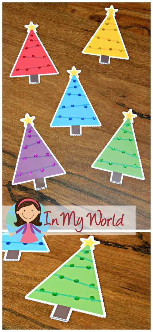 Christmas Preschool Centers - In My World