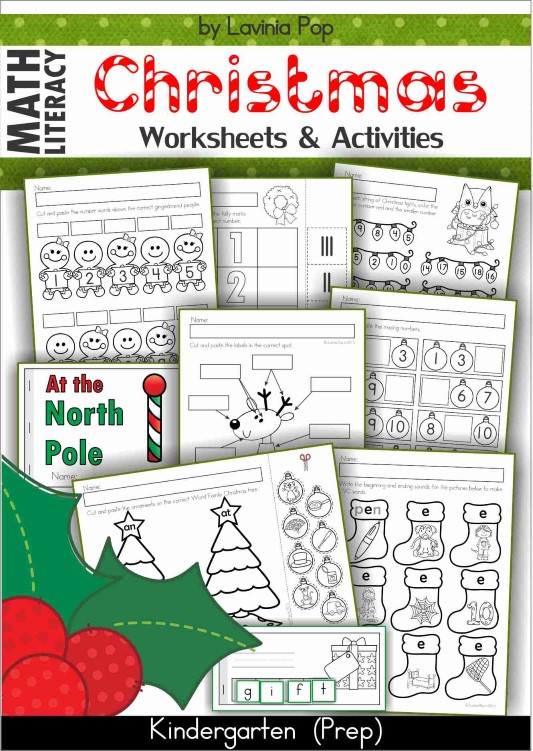 christmas literacy centers for kindergarten in my world. Black Bedroom Furniture Sets. Home Design Ideas