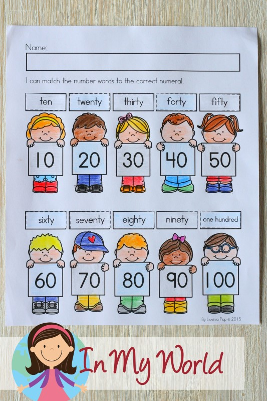 100th Day of School Worksheets and Activities. Skip counting by 10